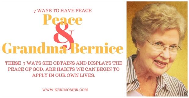 Peace & Grandma Bernice(2)